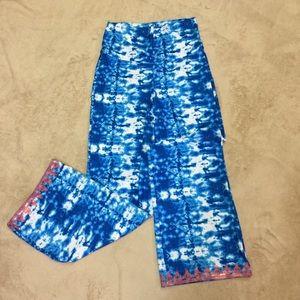 NWT Cabana Life Oceana Beach Pants Medium 50+ UPF